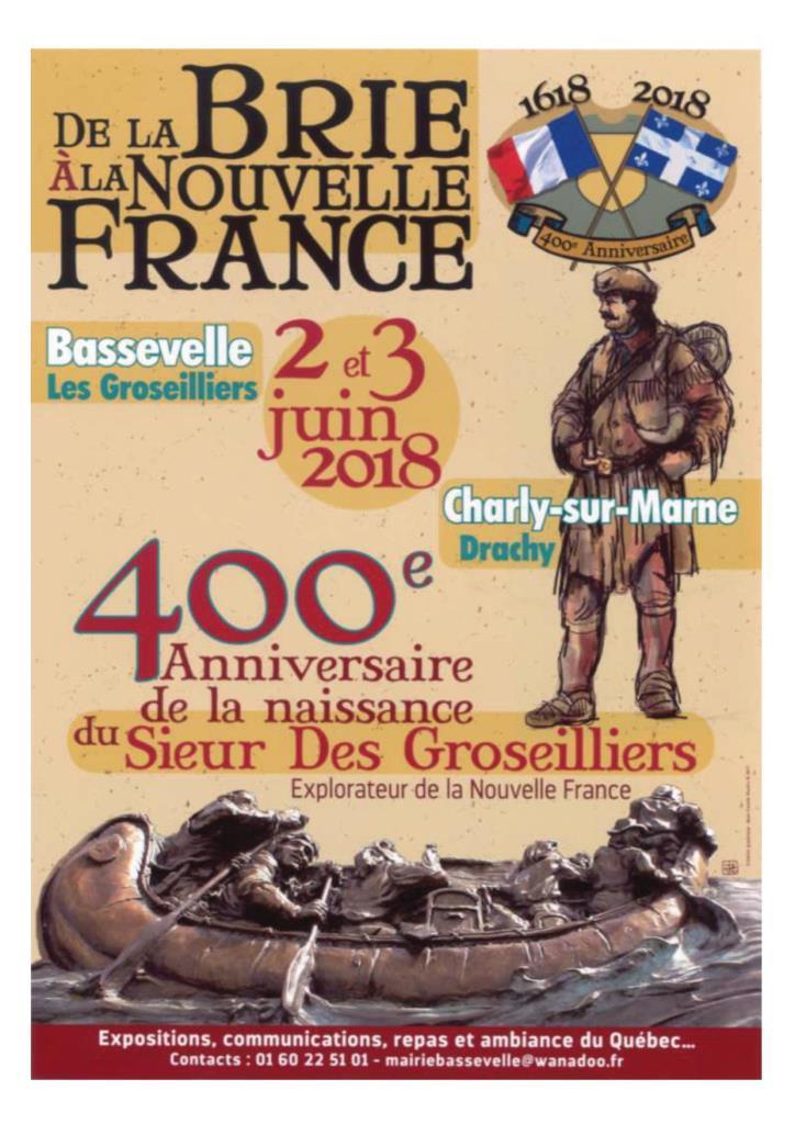 20180602_400e anniversaire Médard Chouart, affiche, programme, vie-1