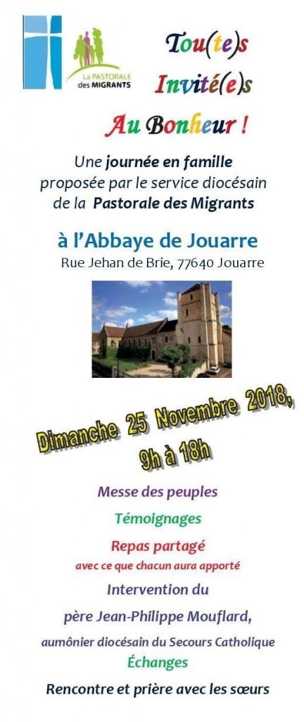 Tract Invitation Journee Familiale Jouarre 25nov2018_1