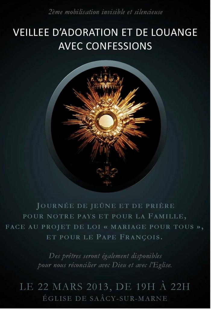 2013 03 22 Veillée de prière