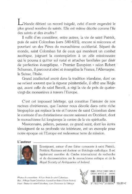 St Colomban et les racines Xtiennes de l'Europe - 2