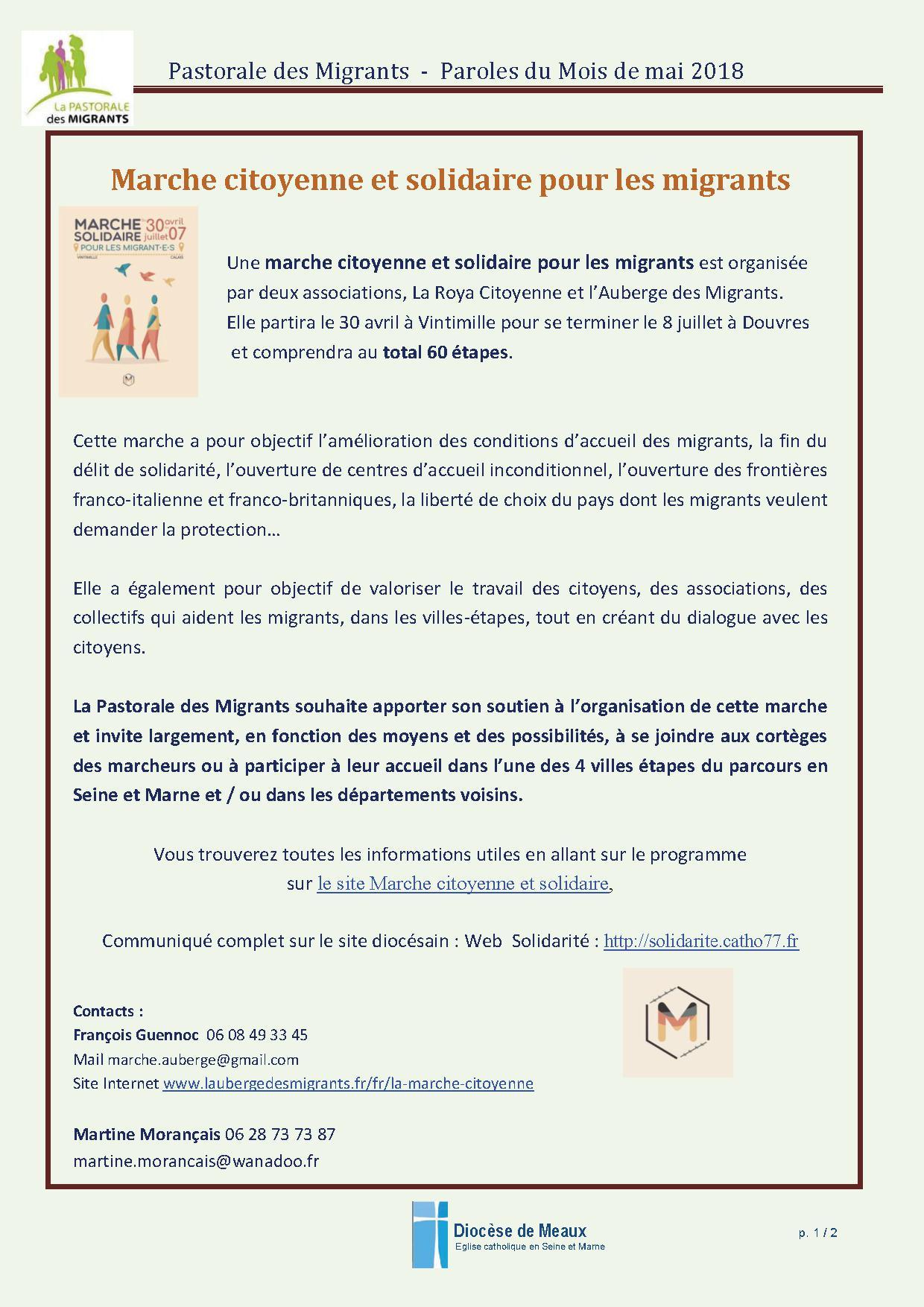 Marche Solidaire Migrants-1