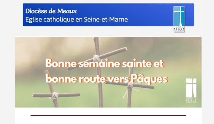 Lettre d'information du diocèse de Meaux – N° 51 Lundi 29 mars 2021