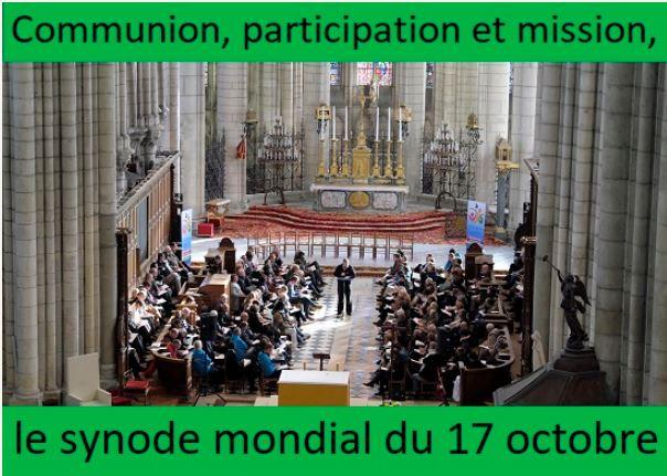 L'Église de Dieu est convoquée en Synode