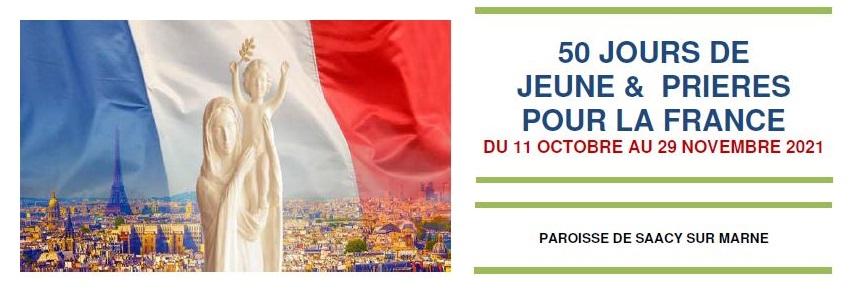 50 jours de Rosaire pour la France